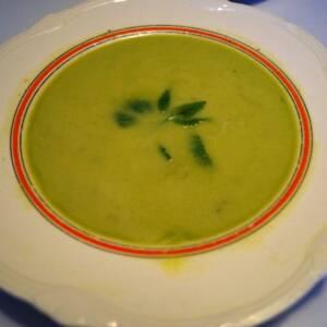 Blendet grøntsagssuppe