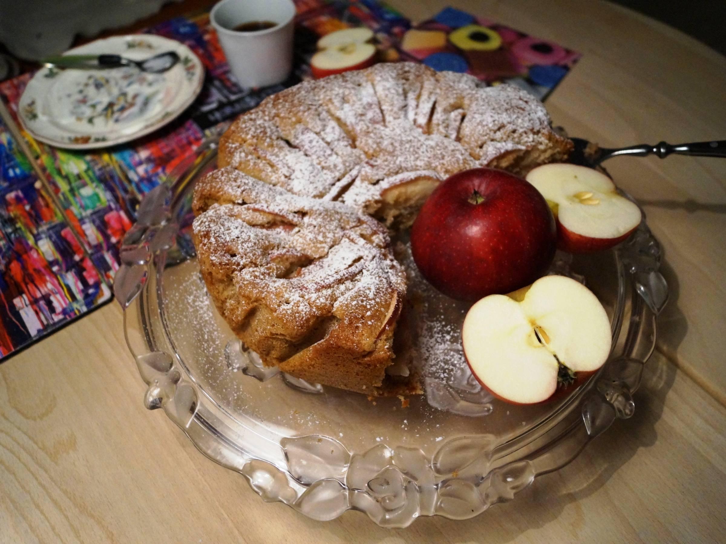 Æbletærte - Æblekage