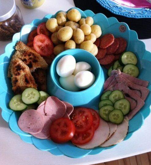 Alt til et lækkert frokostbord