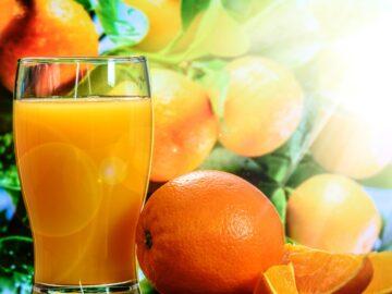 Appelsin og appelsinjuice