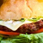 Baguette burger