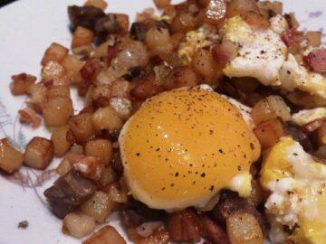 Biksemad med æg