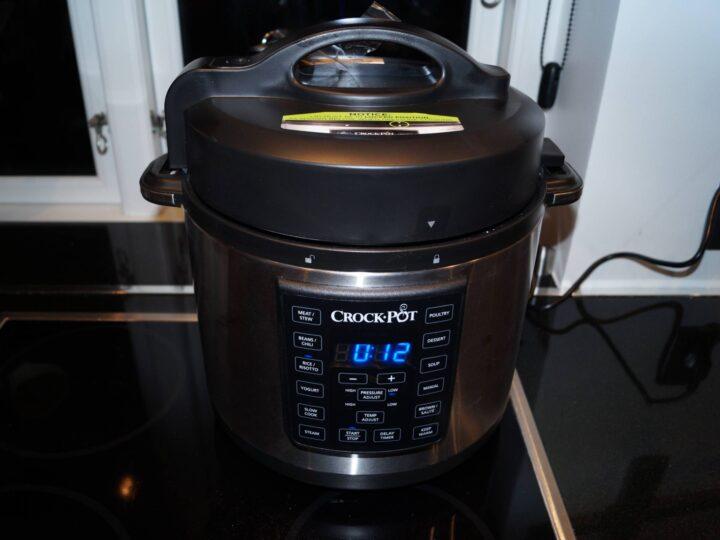 Crock-pot med damp og pres funktion
