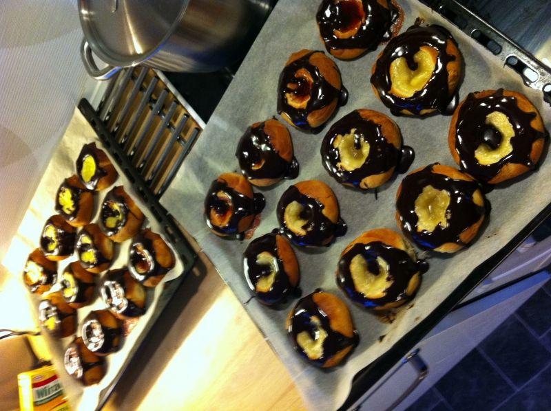Fastelavnsboller-bagt i ovn