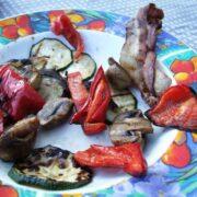 Grøntsager grillet