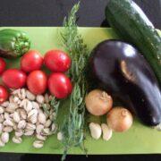 Grøntsager til ratatouille