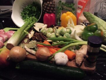 Grøntsager til svinemedaljon