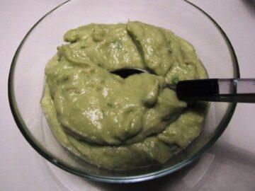 Guacamole – avocadocreme