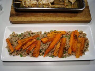 Gulerødder med appelsin og honning bagt i ovn