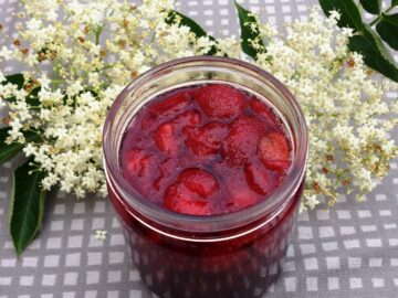 Hjemmelavet jordbærmarmelade, som fra den gamle fabrik