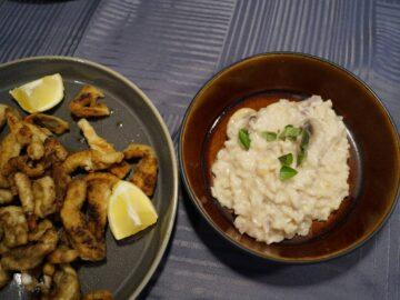 Hornfisk skæres ud i pommes frites