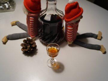 Julekryddersnaps hjemmelavet