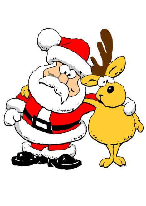 Julemand med Rudolf
