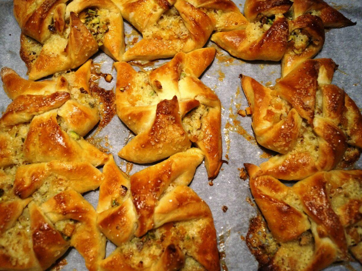 Julestjerner bagt i ovn
