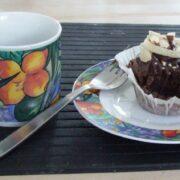 Kaffe og cupcake