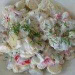 Kartoffelsalat med aspargeskartofler
