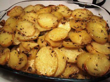 Kartofler med timian
