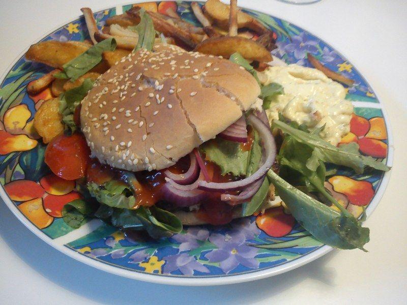 Klassisk burger