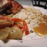 Kylling med æbler og fennikel