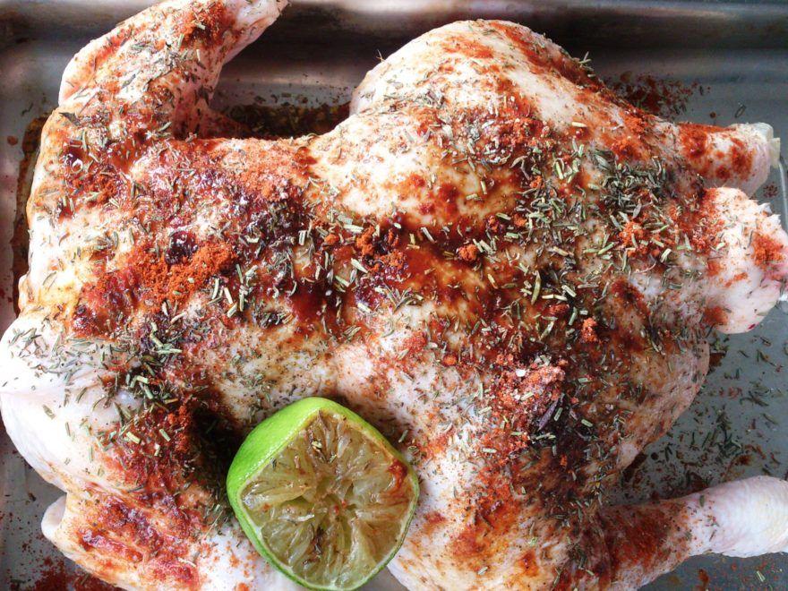 Kylling med krydderier