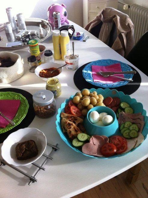 Lækkert frokostbord