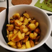 Lyonnaise kartofler i fad
