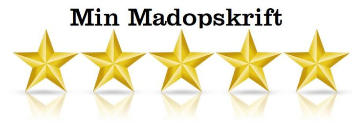 Min Madopskrift 5 star rating