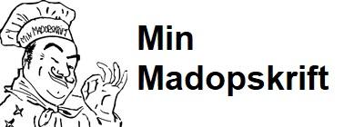 Mobil logo - Min Madopskrift