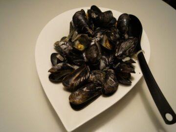 Moules marinières - muslinger