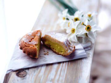 Muffins med pistacienødder