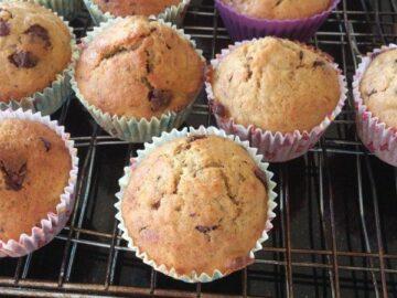 Muffins med rosiner