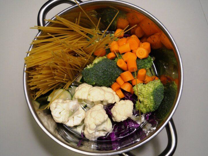 One pot pasta ingredienser