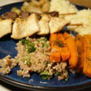 Quinoa med hakket persille