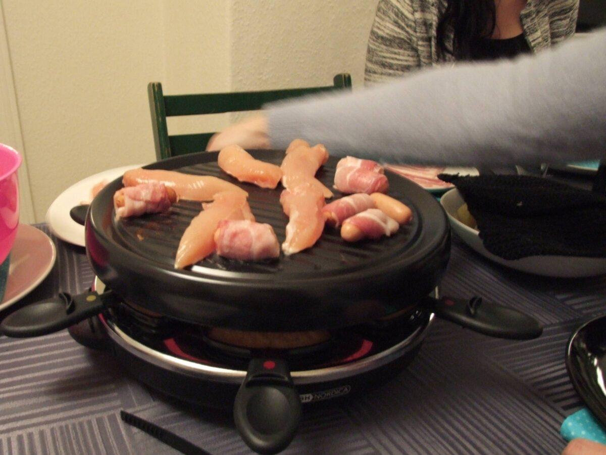Mad på raclette