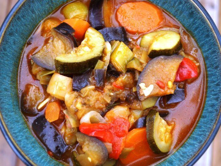 Ratatouille fransk provencalsk grøntsagsret