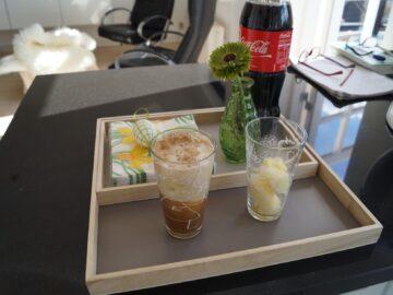 Smoothie med lime og cola