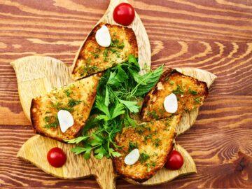 Snacks med friske krydderurter