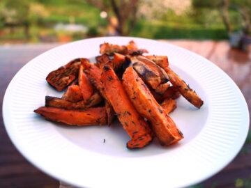 Sødkartoffel fritter