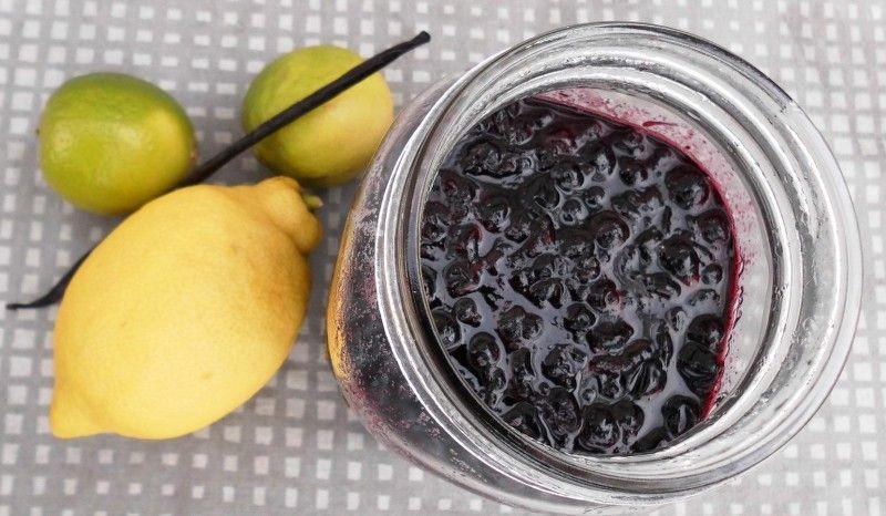 Solbærmarmelade med vanilje og lime