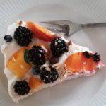 Tærte med bær og frugt