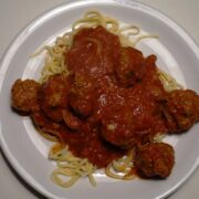 Spaghetti lady og vagabonden