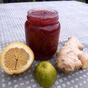 Stikkelsbærmarmelade med ingefær