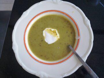 Suppe med squash og fennikel