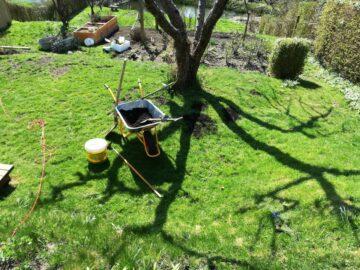 Trillebør med kompostjord