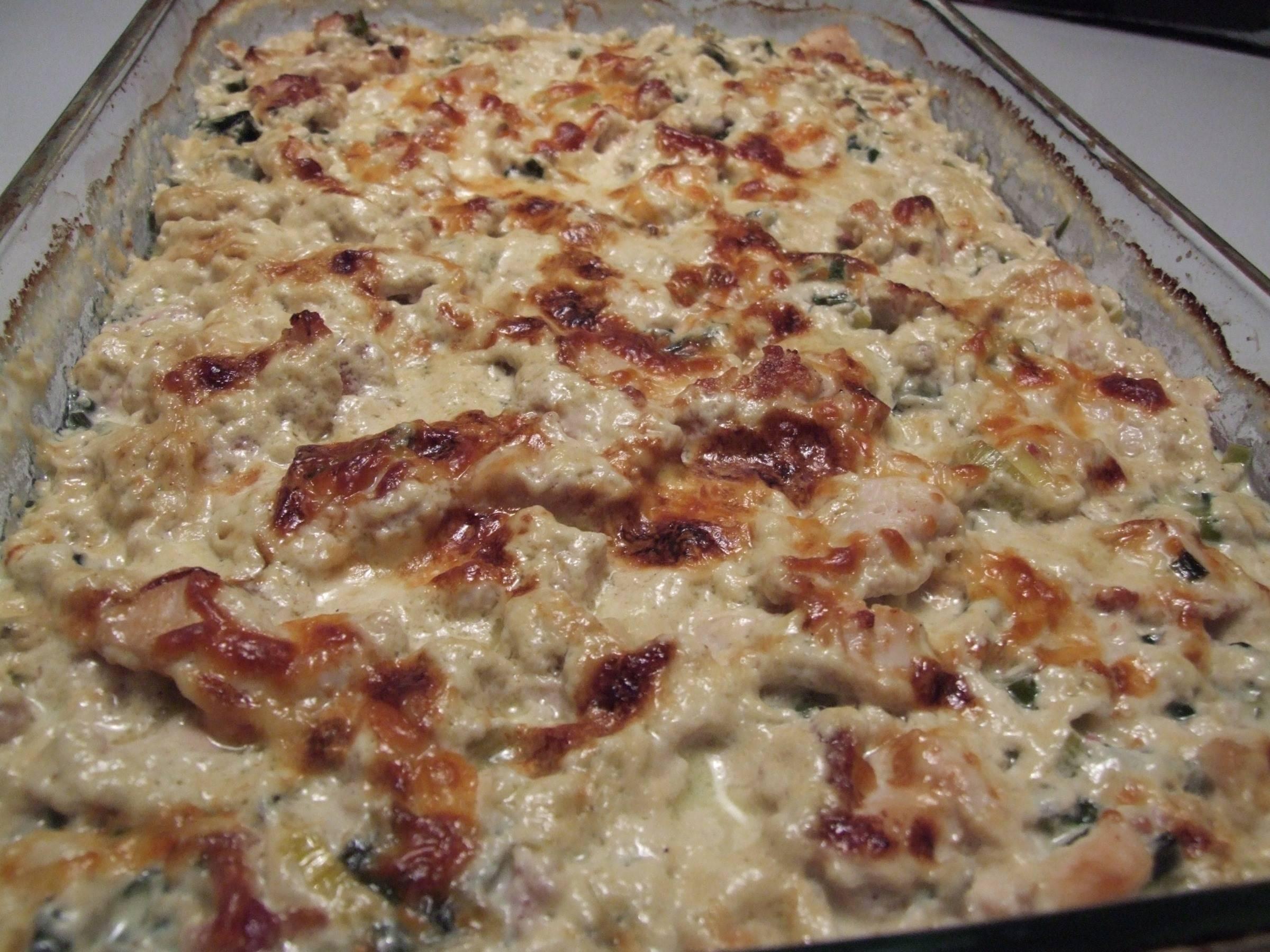 Vegetar lasagne med fløde