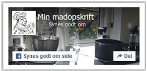 facebook-minmadopskrift