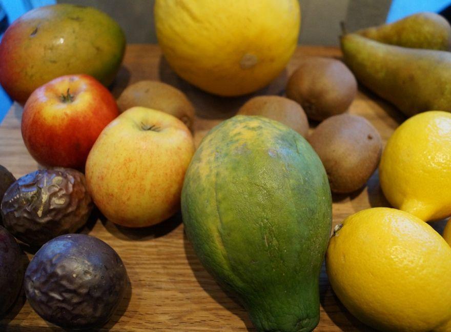 Frugter til hjemmelavet tørret frugt